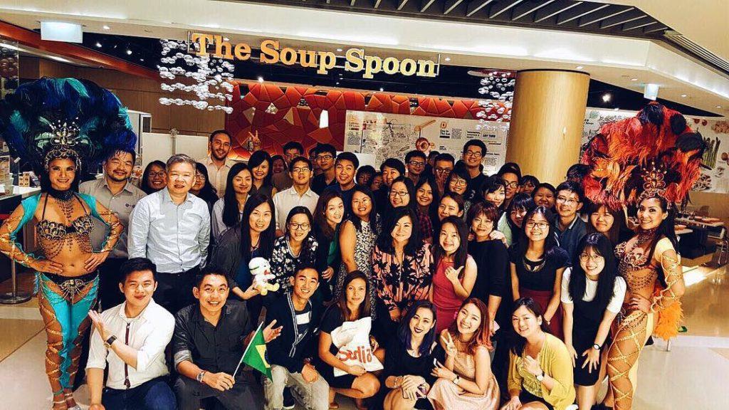 TSS Brazil soup tasting