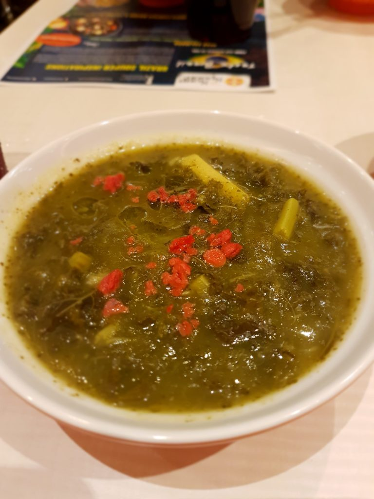 Vegan Caldo Verde Curried